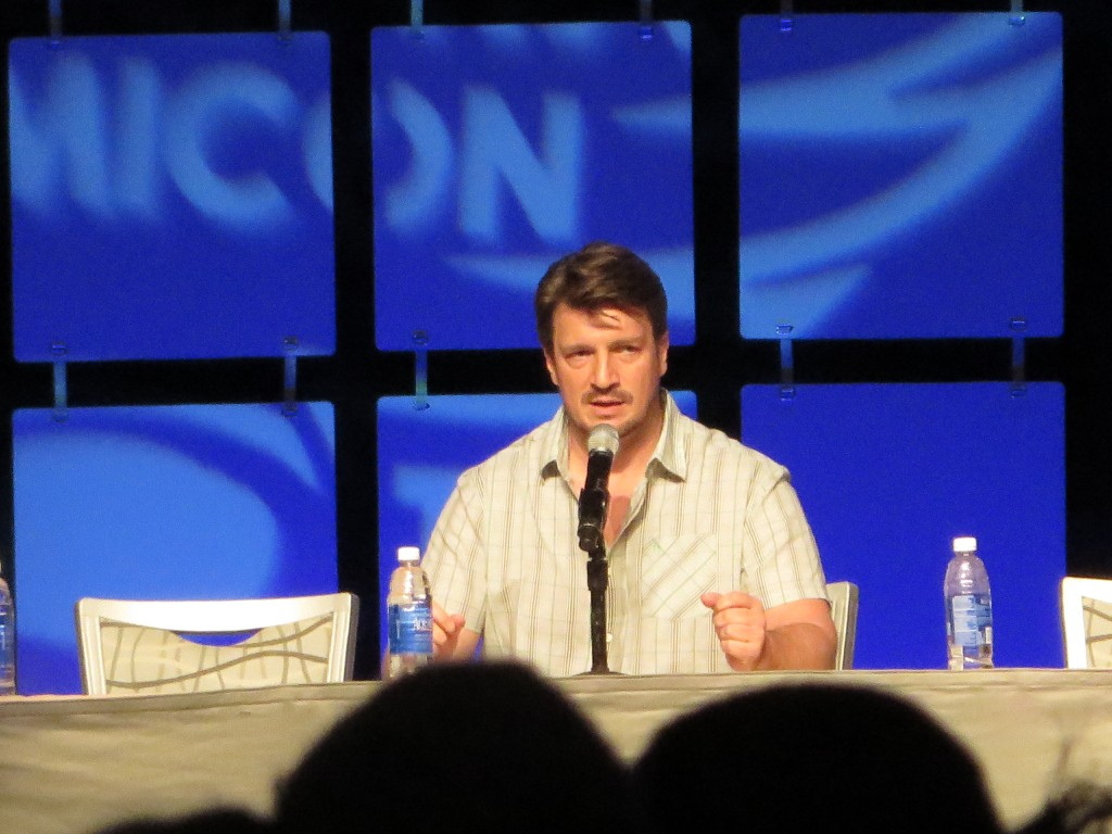 Nathan Fillion at Phoenix Comicon