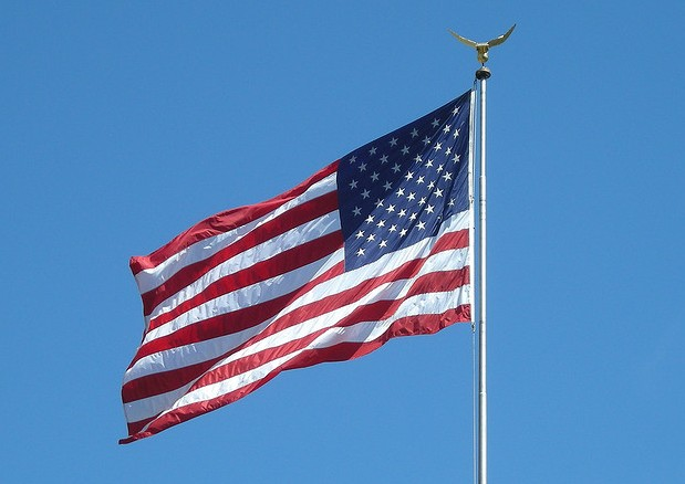 Happy Independence Day - American Flag