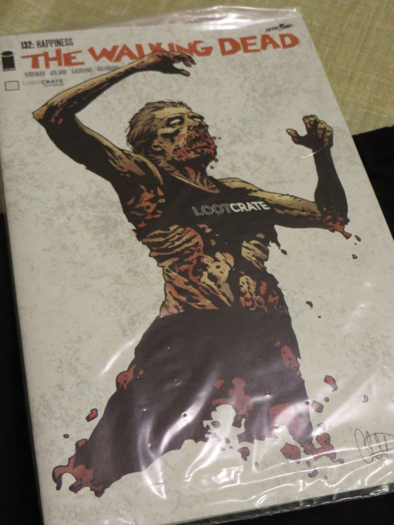 LootCrate Exclusive Walking Dead 132 Variant Cover